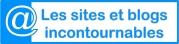Sites et blogs incontournables - logo Bleu clair