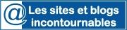 Sites et blogs incontournables - logo Bleu foncé