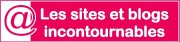 Sites et blogs incontournables - logo rose