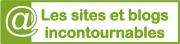 Sites et blogs incontournables - logo vert clair