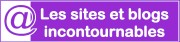 Sites et blogs incontournables - logo violet