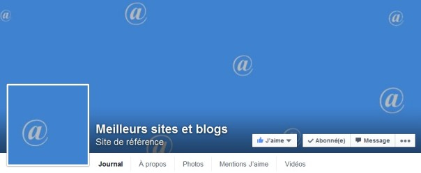 Sites et blogs Facebook